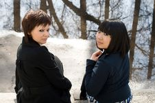 Free Two Female Friends Outdoor Stock Photography - 14590092