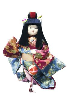 Free Japanese Doll Stock Photo - 14590190
