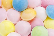 Free Background Of Flying Saucer Sweets Stock Images - 14590274