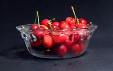 Free Red Cherry Stock Photography - 14590282