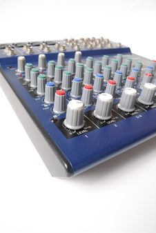 Free Mixing Board Royalty Free Stock Photography - 14590347
