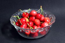 Free Red Cherry Stock Image - 14590391
