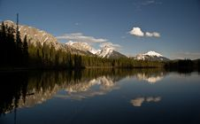 Free Mountain Reflection Stock Images - 14590904