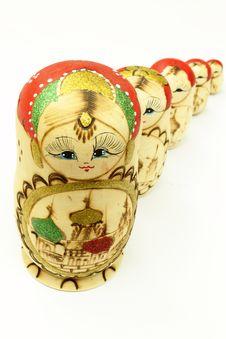Free Matryoshka Doll Royalty Free Stock Image - 14591246