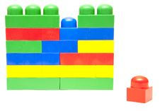 Free Colorful Building Blocks Stock Images - 14591734