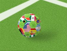 Free Soccer Ball Stock Images - 14592124