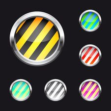 Free Glossy Abstract Buttons Stock Photo - 14592200
