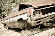 Free Abandoned Car Stock Photos - 14593263