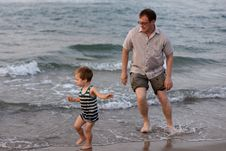 Free Father And Son Royalty Free Stock Image - 14593286