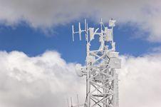 Free Frozen Antenna Royalty Free Stock Photo - 14594295