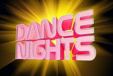 Free Dance Nights Stock Photos - 14594333