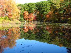 Free Autumn Lake Royalty Free Stock Photo - 14594455