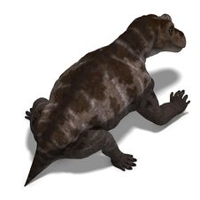 Free Dinosaur Keratocephalus. 3D Rendering With Royalty Free Stock Photo - 14594505