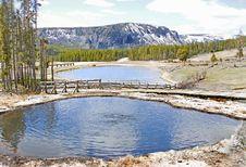 Free Yellowstone Park Hot Springs Royalty Free Stock Photos - 14595178