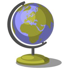 Free Earth Globe Set 007 Stock Images - 14595454
