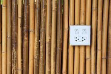 Free Background With White Bamboo Stock Photography - 14595592