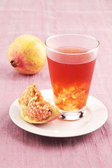 Free Pomegranate Juice Royalty Free Stock Photos - 14595648