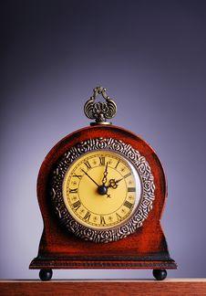 Antique Looking Clock Stock Image
