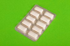 White Chewing Gum Stock Images