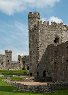 Free Caernarfon Castle Stock Photography - 14596732