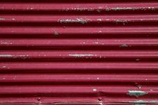 Free Red Metal Door Stock Photo - 14597700