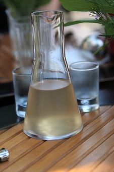 Free Decanter With Ukrainian Liqueur Royalty Free Stock Photo - 14599145