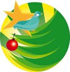 Free Bird On Tree Royalty Free Stock Photography - 14599247