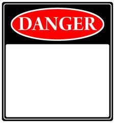 Free Danger Sign Stock Images - 14599484