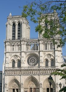 Free Notre-Dame Basilica In Paris Stock Image - 14599871