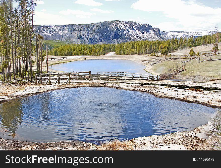 Yellowstone Park Hot Springs