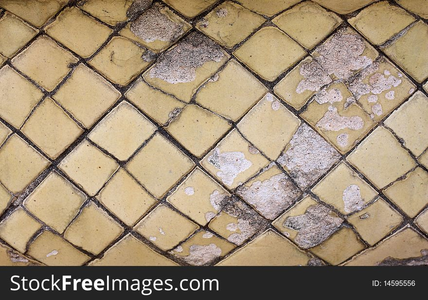 Old Ceramic Tile On A Bathroom Free Stock Images Photos