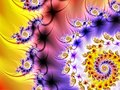 Free Colorful Spiral Fractal Stock Image - 1460351