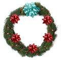 Free Christmas Wreath Royalty Free Stock Photos - 1463298