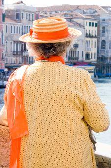 Colorful Tourist Venice Stock Images