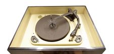 Free Isolated Vintage Vinyl Player Stock Photography - 1460042