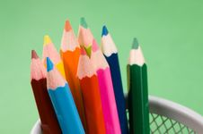 Free Colored Pencils Stock Photo - 1460090