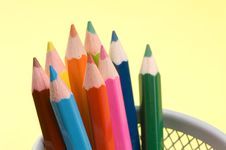 Free Colored Pencils Stock Image - 1460101