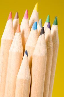 Free Colored Pencils Royalty Free Stock Image - 1460156