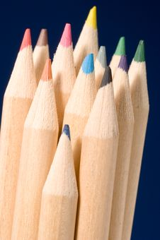 Free Colored Pencils Stock Image - 1460171