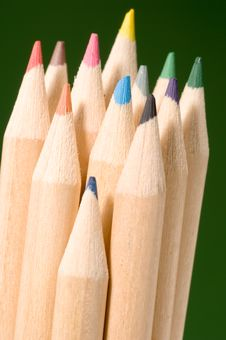 Free Colored Pencils Stock Photos - 1460193