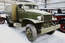 Free Vintage Military Truck Royalty Free Stock Image - 1460366