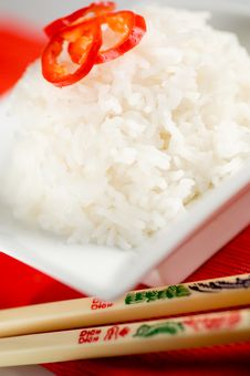 Rice Dish Royalty Free Stock Images