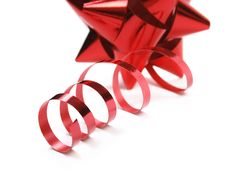 Free Red Bow Royalty Free Stock Photo - 1461045