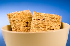Free Wheat Biscuit Breakfast Royalty Free Stock Photos - 1461088