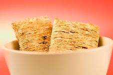Free Wheat Biscuit Breakfast Royalty Free Stock Image - 1461096