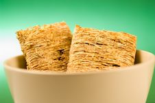Free Wheat Biscuit Breakfast Royalty Free Stock Photos - 1461108