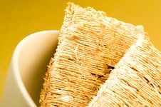 Free Wheat Biscuit Breakfast Royalty Free Stock Photo - 1461125