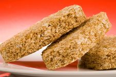 Free Wheat Biscuit Breakfast Stock Images - 1461174