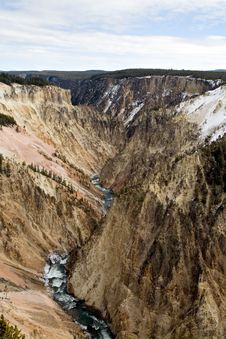 Free Grand Canyon Of The Yellowstone Royalty Free Stock Images - 1461239