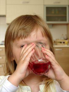 Free Breakfast / Drinking Juice Royalty Free Stock Photography - 1461757